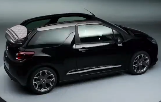 """""""Citroën"""" pagaliau atskleidė, kaip atrodys DS3 Cabrio"""