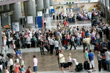 Ekonomikos nuosmukis keliautojų neišgąsdino