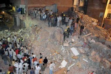 Egipte sugriuvęs namas palaidojo 11 žmonių