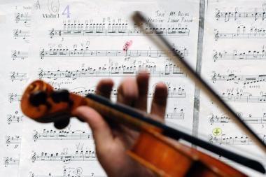 Londone pavogtas 1,2 mln. svarų sterlingų vertės Stradivarijaus smuikas