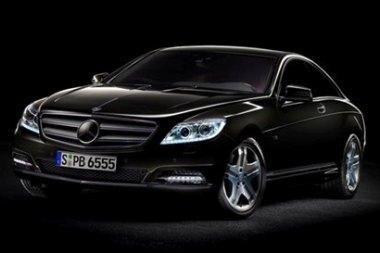 "Atnaujinta kupė ""Mercedes-Benz CL"""