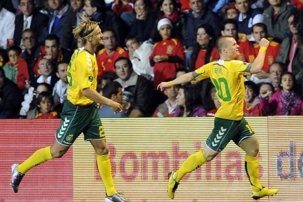 FIFA klasifikacijoje Lietuvos futbolo rinktinė pakilo 46-tą vietą