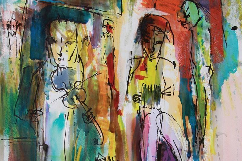 """Apie plakato meną ir Kristianiją – Palangos """"Ramybės"""" galerijoje"""