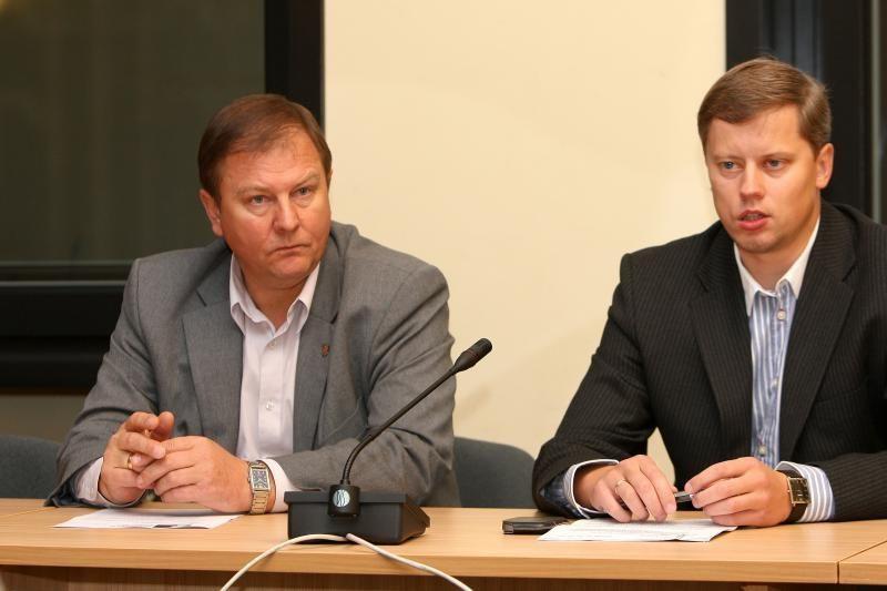 TS-LKD frakcijai Kauno miesto taryboje vadovaus V.Gudėnas