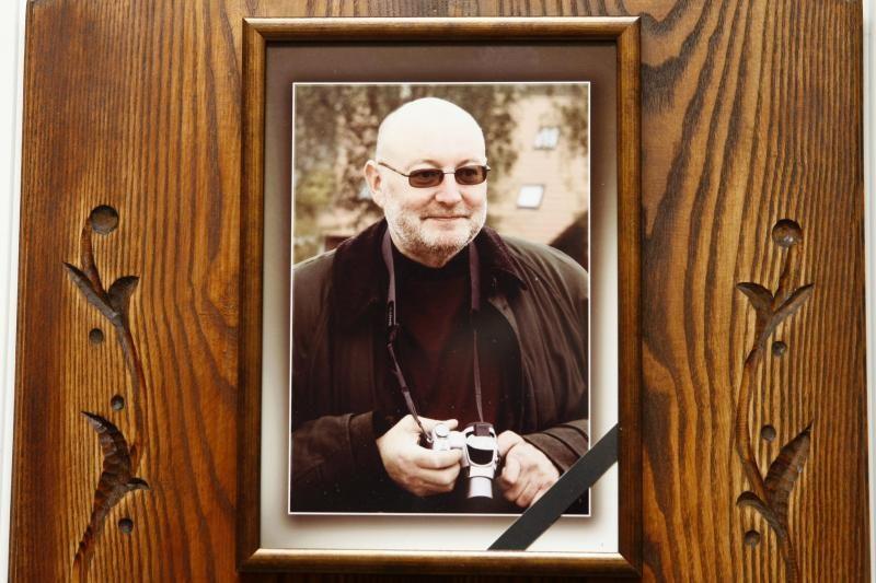 Klaipėdoje amžino poilsio išlydėtas černobylietis G. Tareila