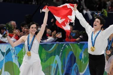 Šokiai ant ledo: jauna kanadiečių pora pranoko favoritus