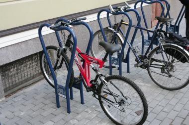 Vilniuje bus žymimi gyventojų dviračiai