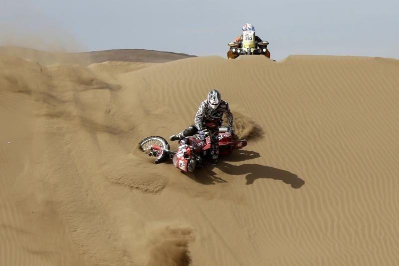 Mirtis Dakaro ralyje: žuvo Prancūzijos motociklininkas