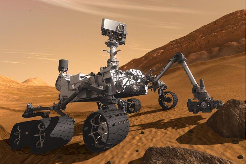 """NASA gali pražiopsoti akimirką, kai marsaeigis """"Curiosity"""" nusileis"""