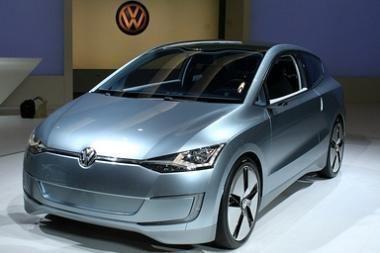VW parodė mažalitražį miesto automobilį