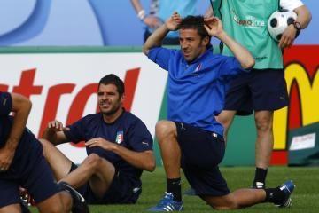 """""""Euro 2008"""": italams nėra kur trauktis"""