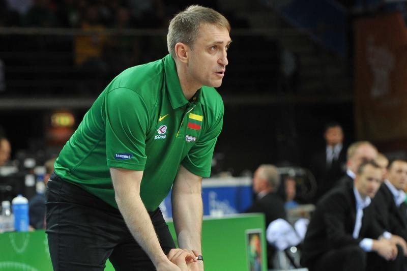 Lietuvos vyrų krepšinio rinktinė įveikė britus