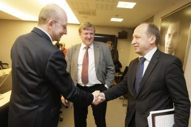 Partijos pasidalino Seimo komitetus