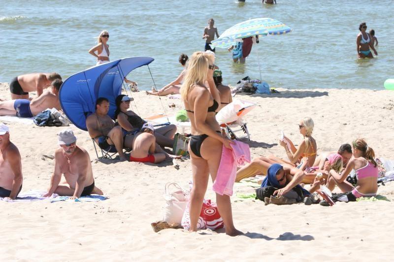 Klaipėdos paplūdimiuose skelbiama vasaros pradžia