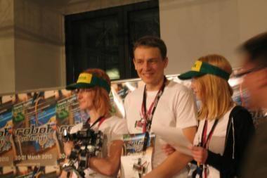 Klaipėdiečių robotas - Europos čempionas