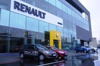 """Vilniaus """"Sostenoje"""" – naujas """"Renault"""" automobilių salonas"""