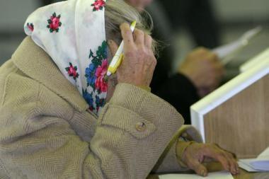Alytuje apiplėštas pensijų išnešiotojas