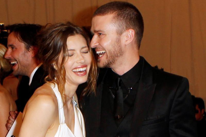 Italijoje susituokė J. Timberlake'as ir J. Biel