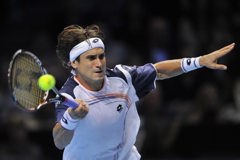 Antrasis turnyro Londone pusfinalio dalyvis - D.Ferreras