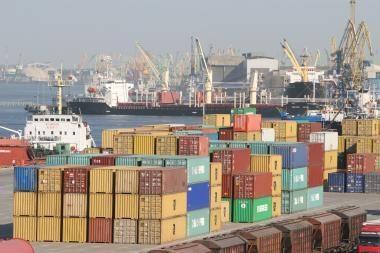 Klaipėda išlaiko konteinerių krovos lyderės vietą