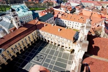 """Vilniaus universitete posėdžiaus """"Erasmus Mundus"""" asamblėja"""
