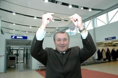 Palangos oro uosto direktorius traukiasi