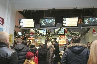 Miestiečiai pramogaudami dažniausiai renkasi kiną