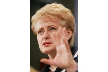 D.Grybauskaitė - patikimiausia politikė