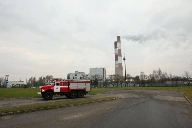 Kauno termofikacinėje elektrinėje kilo gaisras