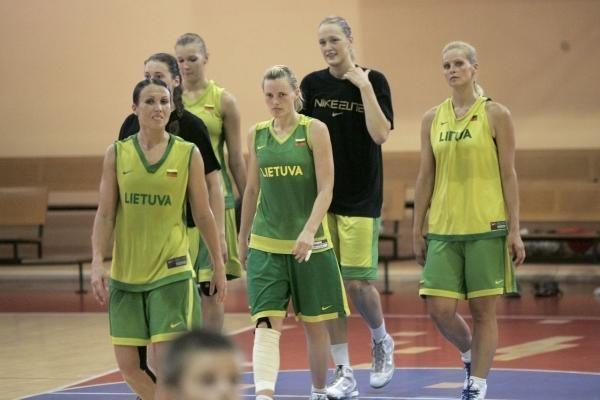 Lietuvos moterų krepšinio rinktinė turnyrą Druskininkuose pradėjo pergale