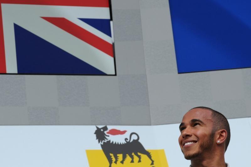 """""""Formulės 1"""" čempionato lenktynėse triumfavo britas"""