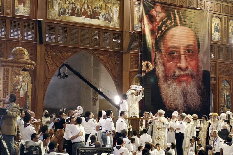 Egipto Koptų Bažnyčia išsirinko naują popiežių - Tawadrosą