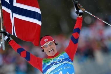 Norvegės buvo nepralenkiamos slidinėjimo estafečių lenktynėse