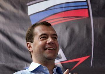 D.Medvedevas: Rusijai parlamentinė demokratija taptų