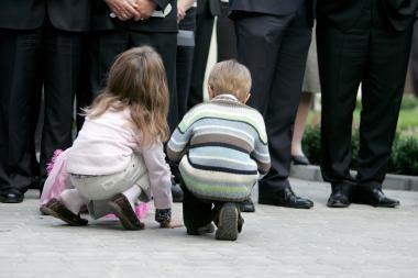 Klaipėdoje įvaikinama daugiau vaikų
