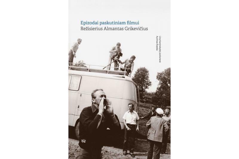 Kino istorikų knygoje - A. Grikevičiaus prisiminimai ir liudijimai