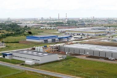 Klaipėdos LEZ planuojamos statybos