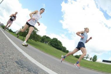 Nidos ultramaratone bėgikai po ilgos pertraukos kovos dėl Lietuvos čempiono vardo
