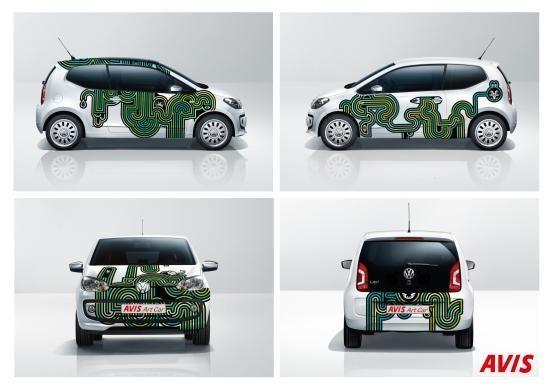 """AVIS pristato išskirtinio dizaino automobilius """"ArtCar"""""""