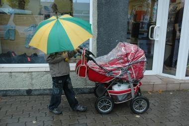 Virusams palankus oras - lietus ir drėgmė