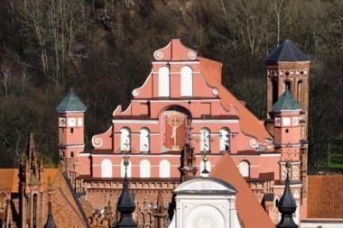 Tęsiami Vilniaus Bernardinų bažnyčios restauravimo darbai