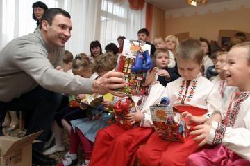 V.Kličko kandidatuoja į Kijevo merus