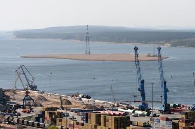 A.Sekmokas: dujų terminalo preliminari vieta - Kiaulės nugara