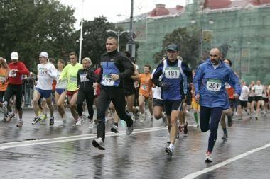 Vilniečiai kviečiami į bėgimą ,,už sveiką ir saugų miestą