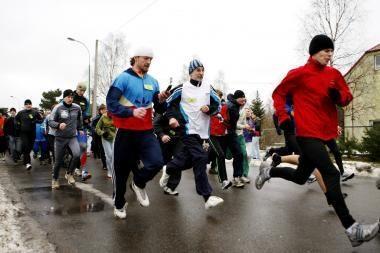 Bėgimo varžybų lyderiai – klaipėdietis ir kaunietė