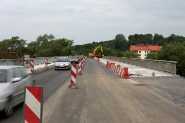 Atidaroma antroji Raudondvario tilto juosta (papildyta)