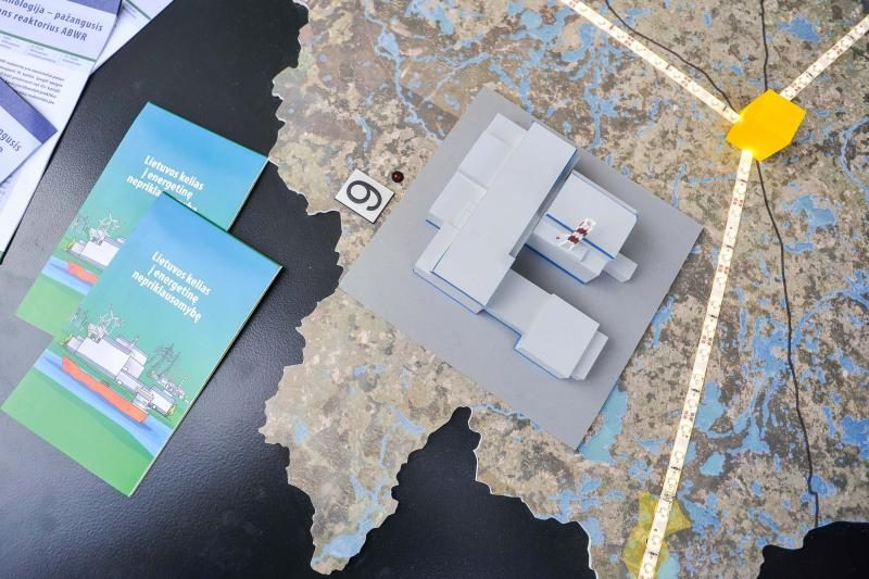 Klaipėdoje - mobilusis Visagino atominės elektrinės info centras