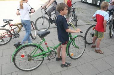 Savivaldybėje - šauniausio sostinės dviratininko rinkimai
