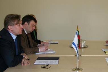 Vilniuje aptartas Lietuvos ir Izraelio bendradarbiavimas