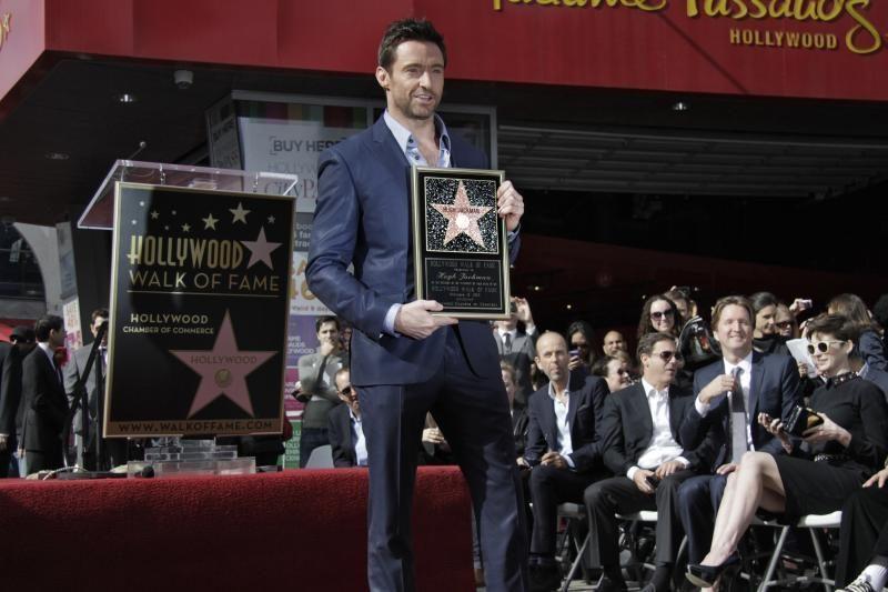 Aktorius H. Jackmanas jau turi žvaigždę Holivudo šlovės alėjoje